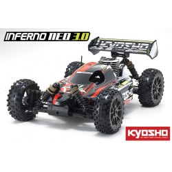BUGGY INFERNO NEO 3.0 Type 2 1/8 GP 4WD RS color rojo - 33012T2B