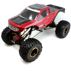 Everest-10 Rock Crawler eléctrico Roja